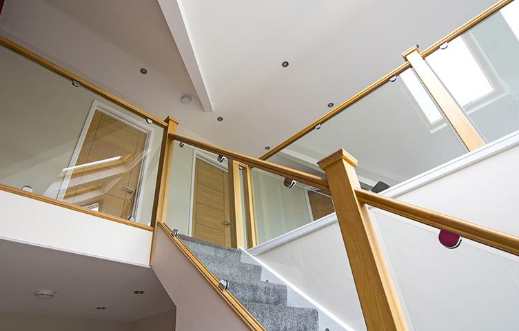 Glass Staircase Renovation Bolton