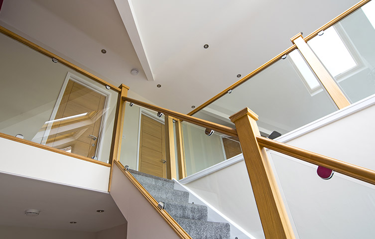 Glass Staircase Renovation Hale