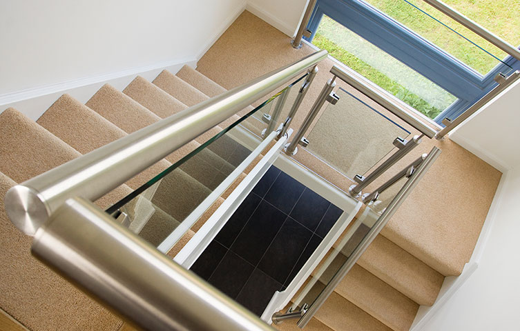 Stainless Steel Staircase Renovation Bury