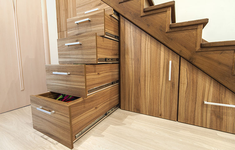 Under Stairs Storage Renovation Hale